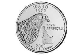 Idaho State Quarter Design The State Of Idaho Statehood Quarter