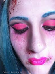 cartoon zombie princess makeup tutorial how to create a face painting beauty on cut out keep
