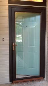impressive decoration front door screen praiseworthy best glass ideas on