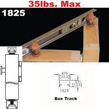 picture of 1825 tap in bi fold door hardware
