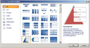 ppt smart art powerpoint 2007 working with smartart