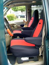 van car seat covers cover gallery wet front transit