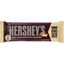 hershey almond candy bars. Simple Almond HERSHEYu0027S Chocolate Candy Bars With Almonds Halloween Candy King Size  Pack Of 18 On Hershey Almond I