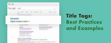 SEO Title Tags: Best Practices and Examples   Unamo Blog