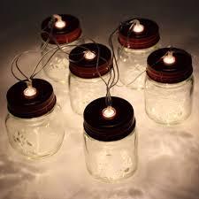 Mini Jar Lights Mini Mason Jar Stringlights