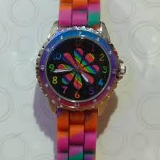 Rainbow Mood Watch Nwt