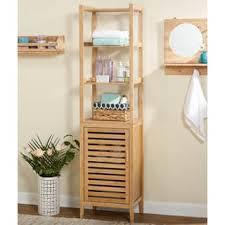bamboo bath furniture. Simple Living Natural Bamboo Linen Tower Bath Furniture