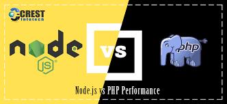 Node Js Vs Php Performance Crest Infotech