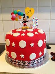 easy mickey mouse birthday cakes