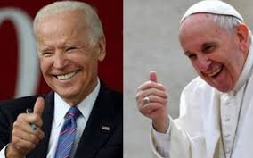 Papa Francisco con Joe Biden