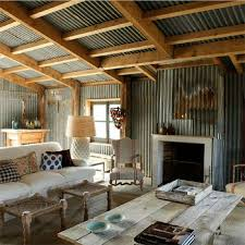 Small Picture Corrugated sheet metal in living spaces Ides Pinterest