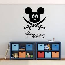 pirate mickey mouse with swords vinyl