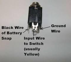 wiring input output jacks general guitar gadgets input jack for drums long input jack wiring
