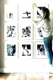 picture frame sets for wall gallery set frames exciting white with double mat by studio decorr living room gallery wall white