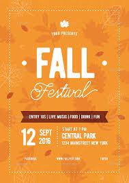 Fall Festival Flier Fall Festival Flyer 02