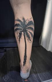 фото тату пальма