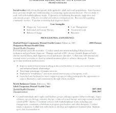 Sample Social Worker Resume No Experience Plus Download Social