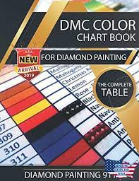 Dmc Color Chart List Dmc Color Chart Book For Diamond Painting The Complete Table 2019 Card Us