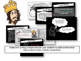 macbeth activities assignments that make it real by room  macbeth activities assignments that make it real