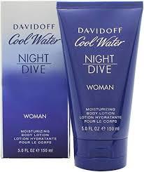 <b>Davidoff Cool Water Night</b> Dive Body Lotion for Women 150 ml ...
