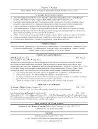 Resume For Nurses Inspiration Resume Objective For Nursing Professional Resume Sample