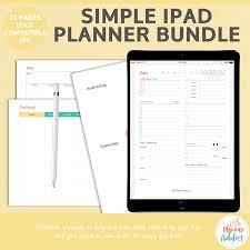 Simple Ipad Planner Bundle Lifeplanneraddict