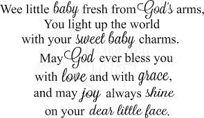 Baby Blessing Quotes Classy New Baby Boy Quotes ImgToys