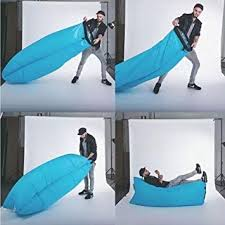 inflatable outdoor furniture. inflatable outdoor air sleep sofa couch portable furniture sleeping hangout lounger imitate nylon external internal pvc