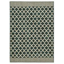 mohawk home modern basics moroccan lattice sapphire cream 2 ft 6 in x