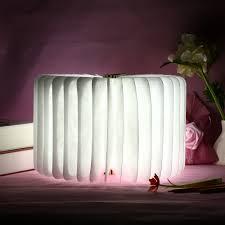 innovating lighting. New Innovative LED Wooden Folding Book Shape Rechargeable Night Light Lamp Artistic 360 Degree Foldable Children Gift-in Lights From Innovating Lighting