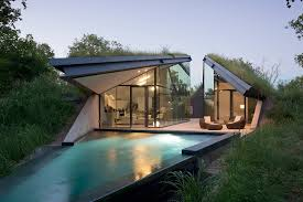 modern green roof design