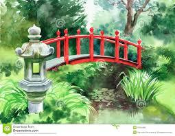 Japanese Style Garden Bridges Red Bridge Our Zen Garden Bridge Comments Shalimar Gardens Or