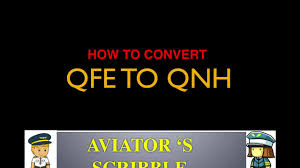 How To Convert Qfe To Qnh Explained In Very Easy Steps Youtube