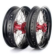 tarazon aluminium alloy crf 450 supermoto wheels for honda buy