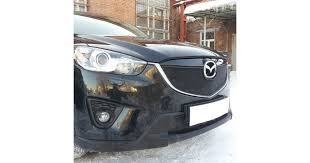 <b>Защита радиатора</b> для Mazda CX5 <b>черная верх</b> купить недорого ...