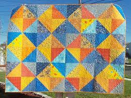 54 best orange & blue quilts images on Pinterest | Baby presents ... & Procrastination in Blue & Orange Adamdwight.com