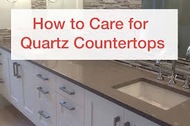 how to care for quartz countertops orlando