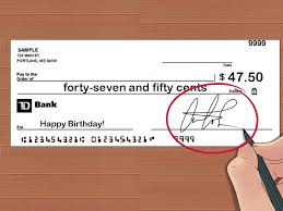 how to write a check cents 10 steps pictures
