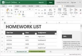 Homework Calendar Excel Excel Homework Magdalene Project Org