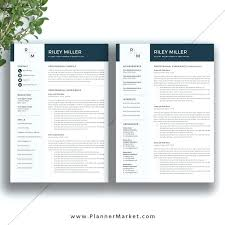 Page Resume Template Free Download Ronhall76
