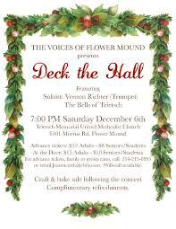news announcements the voices of flower mound community vofm 2014 christmas concert