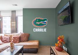 florida gators stacked personalized name giant officially licensed transfer decal fathead wall decal