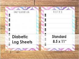 Best Of Photograph Diabetes Tracking Sheet Blood Sugar Form Excel