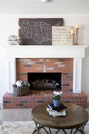 Living Room Mantel Decorating 15 Ideas For Decorating Your Mantel Year Round Hgtvs Decorating