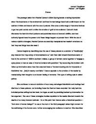 silent spring literary analysis the passage taken from rachel  page 1 zoom in
