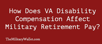 Va Rating Pay Chart Va Disability Compensation Affects Military Retirement Pay