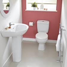 melbourne modern toilet and basin set image 1