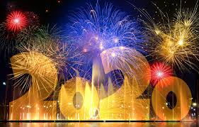 Wallpaper Salute Fireworks Happy New Year Happy New Year