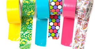 Duct Tape Patterns Adorable Duct Tape Uses Color Duct Tape