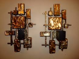 Excellent Decorative Wall Sconces Unique As Gold Bars Stick To The Wall